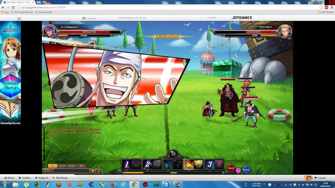 c9b6e87ed1c One Piece Online 2 Pirate King Super Smash 12 Wins in a Row - YouTube