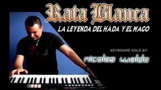 La Leyenda del Hada y El Mago - Rata Blanca // Guitar Solo on Keyboard