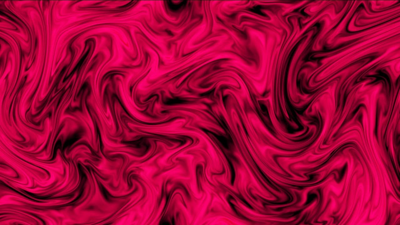 Trippy Hot Pink & Black Swirls HD Video Background - YouTube