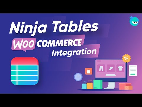 How to Create a WooCommerce Product Table with Ninja Tables | A Dynamic Table Plugin in WordPress