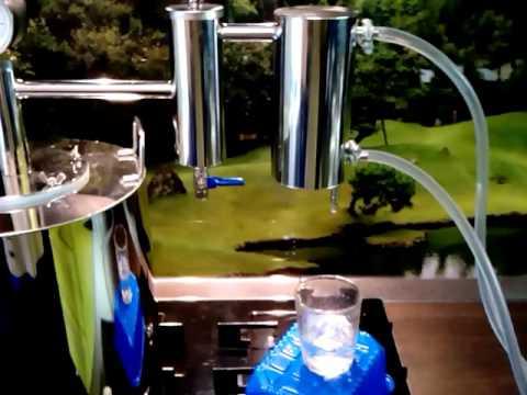 Можно сделать дистиллированную воду в самогонном аппарате самогонный аппарат finlandia цена