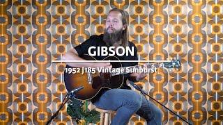 Gibson 1952 J185 Vintage Sunburst played by Leif de Leeuw   Demo @ The Fellowship of Acoustics