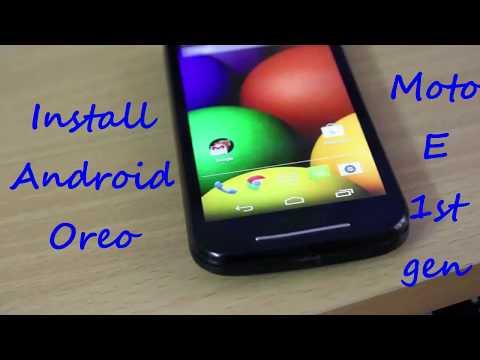 Android 8 (Oreo) On MOTO E 1st Gen (READ DESCRIPTION)