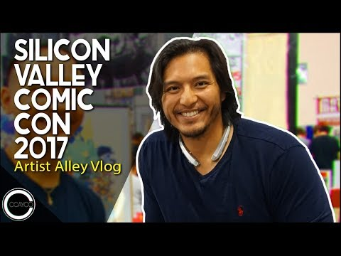 Silicon Valley Comic Con 2017 - Artist Alley Vlog