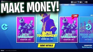 Fortnite Tournament Guide NEW EVENTS Tab Trials