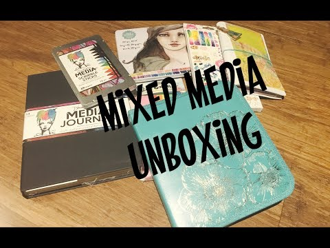 Unpacking Mixed Media products