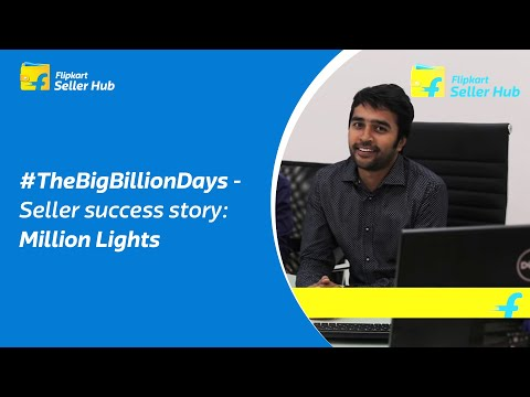 #TheBigBillionDays - Seller success story - Million Lights