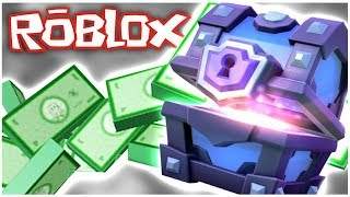 CLASH ROYALE ON ROBLOX!! WE MAKE THE GREATEST EMPIRE!!