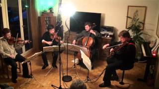 Valentin Berlinsky Quartet. Beethoven Op.59 no.2. Slow Movement