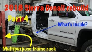 "2018 GMC Sierra Denali  ""Dirtnali"" part 4:  Pulling and trimming the damage"