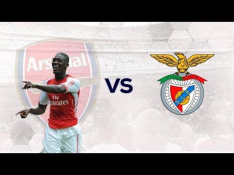 Yaya Sanogo vs SL Benfica - 2/8/14