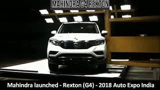 All New 2018 Mahindra G4 Rexton - crash test