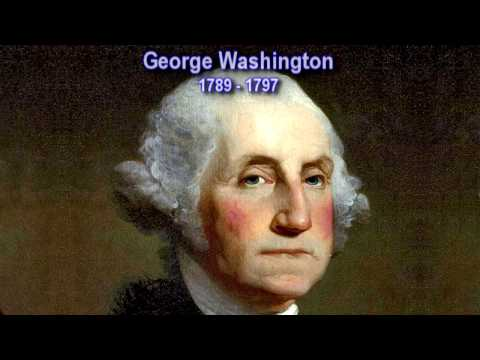 The Presidents Washington to Trump (Morph)