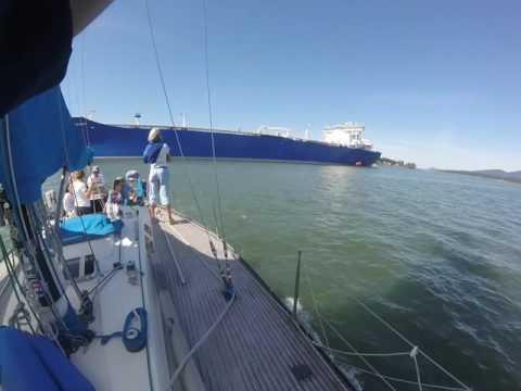 Polar Discovery Oil Tanker in Anacortes Washington