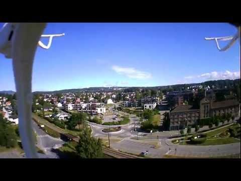 Drone over Hamar,Norway