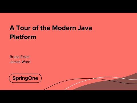 A Tour of the Modern Java Platform