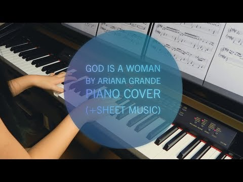 God Is A Woman By Ariana Grande Piano Cover (+Sheet Music)