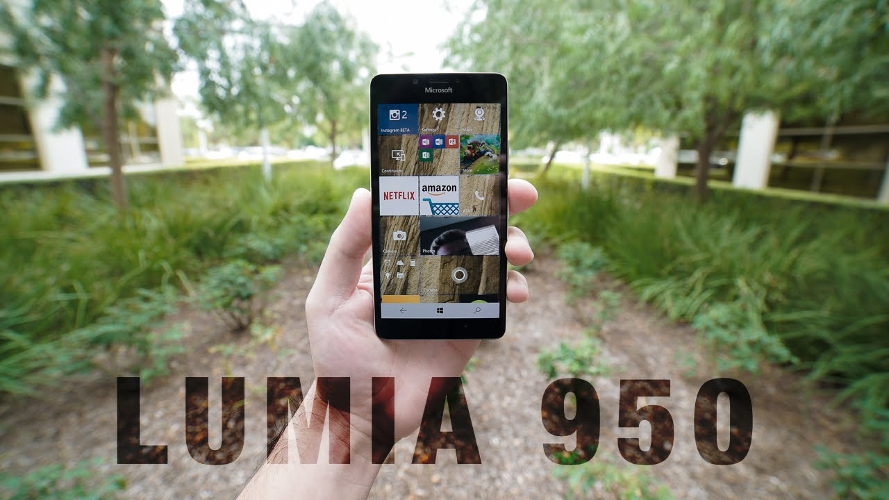 Lumia 950 Review: Through Our Eyes