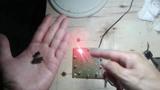 RADAR LED/RUNNING LED (IC NE555 & CD 4017