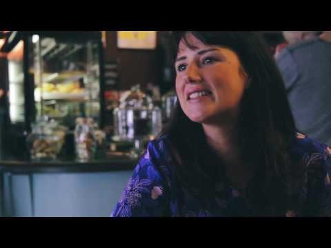 Sarah Henderson from Perc Cafe in #GigatownDunedin