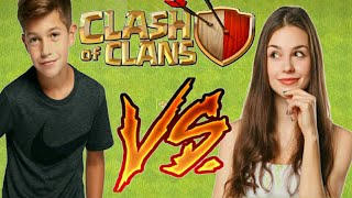 GIRLS VS BOYS IN CLASH OF CLANS | LET'S SEE WHO WILL WIN | AMAZING WAR OF BOYS AND GIRLS
