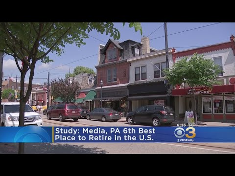 Media, Pennsylvania Is The 6th Best Place To Retire, Study S