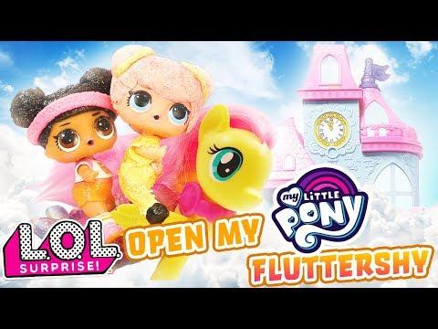 LOL Surprise Dolls Open My Little Pony Fluttershy LOL Surprise Ball!