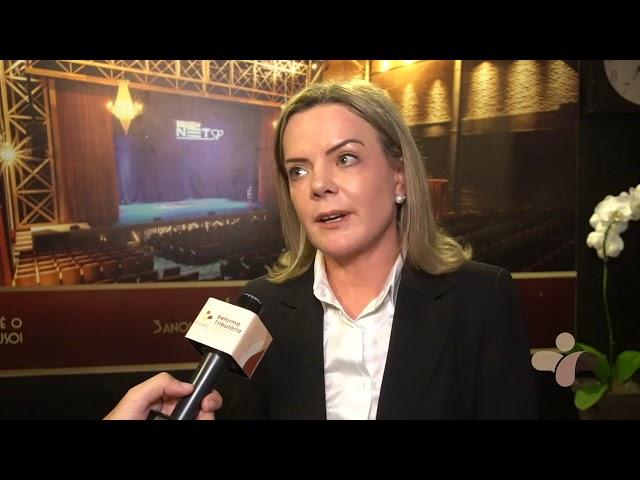 FIT 2018 | Gleisi Hoffmann  - Senadora PT (Parte 3)