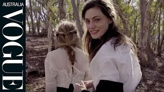 Watch: Phoebe Tonkin and Teresa Palmer for Vogue Australia