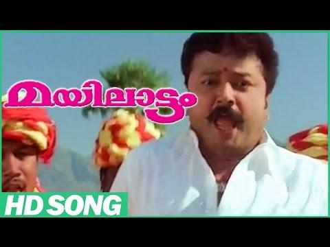 Mayilattam Malayalam Comedy Movie | Maattupetti Koyilile Song | Jayaram | Rambha