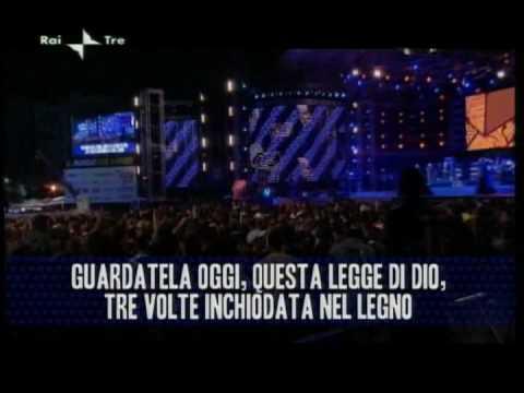 PFM - Il Testamento di Tito (De Andrè) : Concerto Primo Maggio 2009