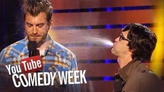 rhett-link-spittake-challenge-the-big-live-comedy-show-highlights-youtube-comedy-week