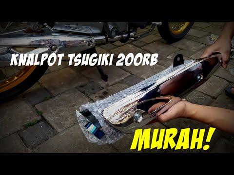 PASANG KNALPOT TSUGIKI MURAH SUPRA X 125