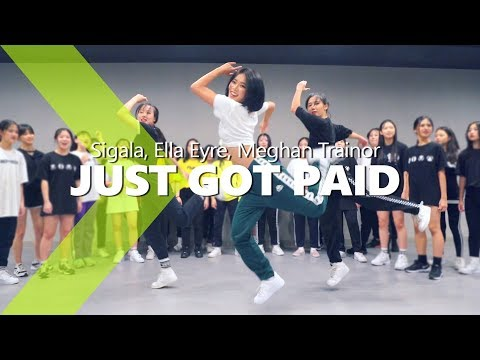 Sigala, Ella Eyre, Meghan Trainor - Just Got Paidft. French Montana / HAZEL Choreography.