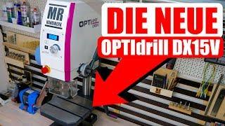 Unboxing OPTIdrill DX15V - Meine neue Tischbohrmaschine - Vorstellungs-Video -