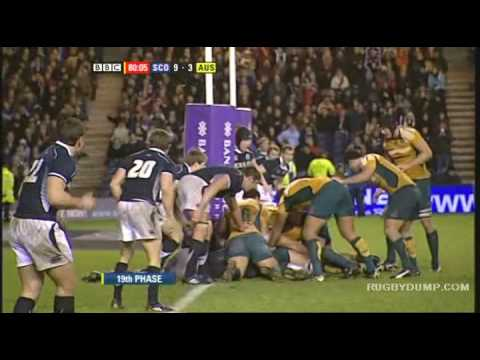 Scotland beat Australia Murrayfield - Rugbydump.com
