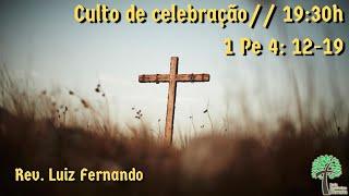 Culto de celebração 19:30h // 10 de janeiro de 2021 // Igreja Presbiteriana Floresta - GV