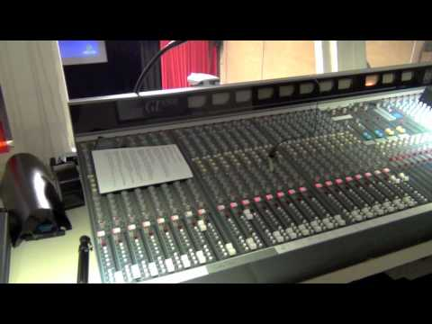 Main Hall - Theatre Control Room Tour
