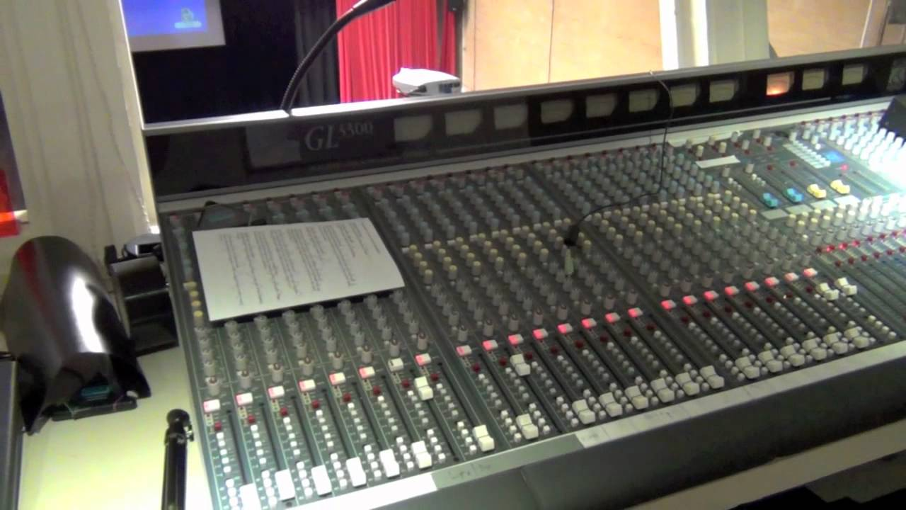 Download Main Hall - Theatre Control Room Tour