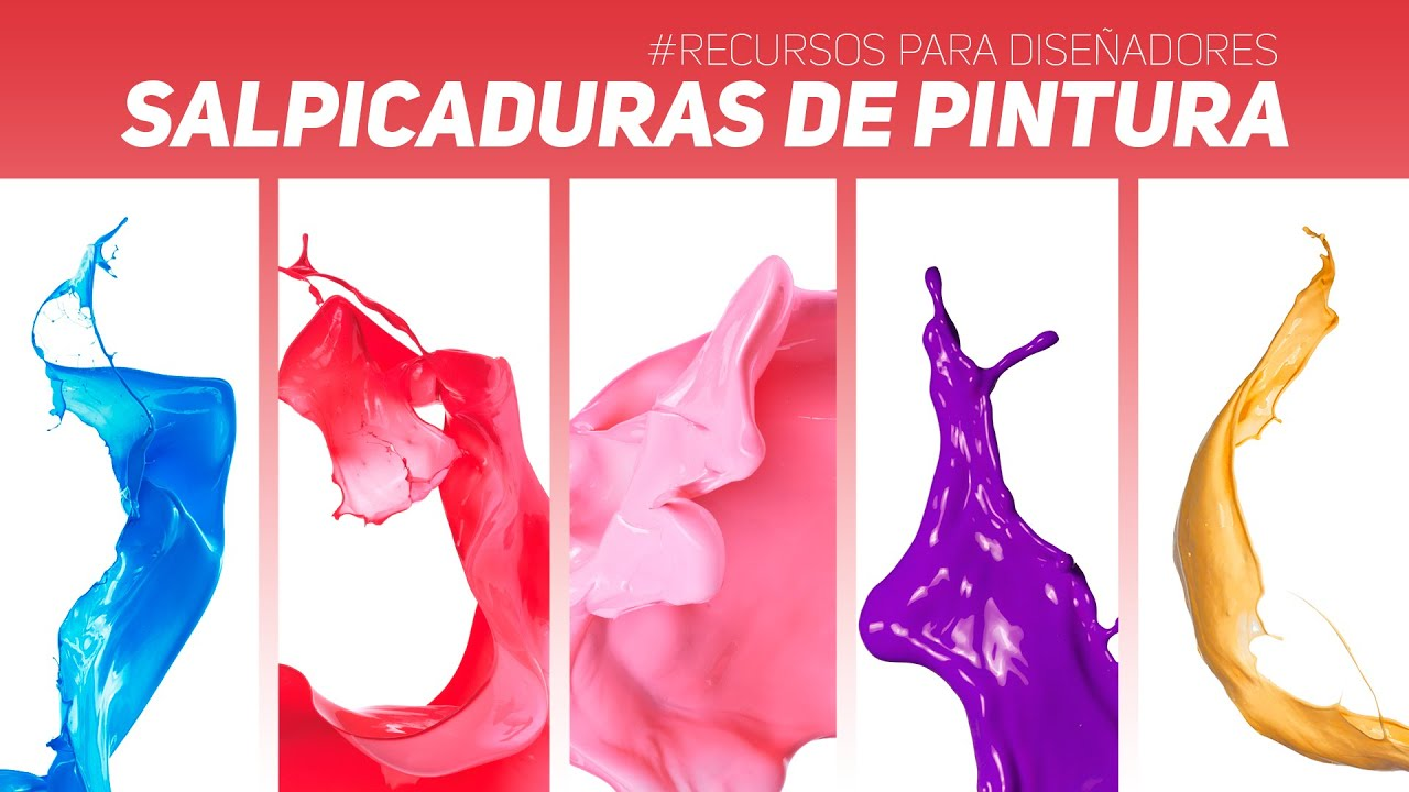 Recursos para dise adores salpicaduras de pintura paint splash png jpg youtube - Salpicaduras de pintura ...