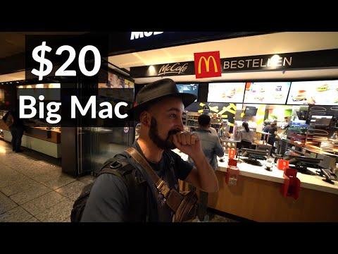 Cheapest foods in Zurich, Switzerland!🇨🇭