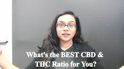 CBD to THC ratio that's Right for You