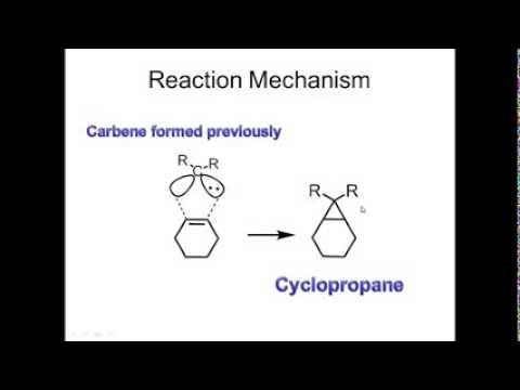 Ozonolysis, Simmons Smith Reaction and Hydrogenation.