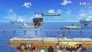 (No Commentary) Super Smash Bros Ultimate Donkey Kong Getting Elite Rank
