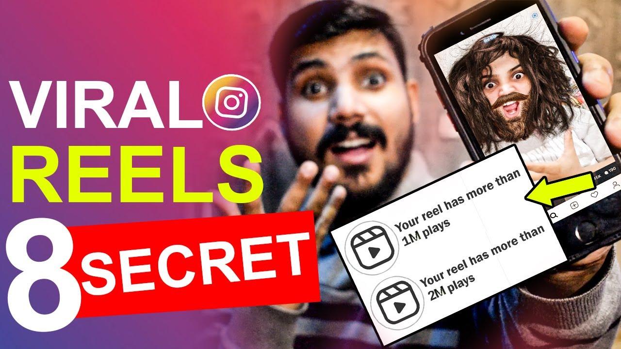 8 Secret Tips to Viral Reels on Instagram   Get More Views on Reels Hindi Urdu 2021