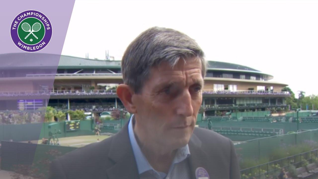 Download Championships Referee Andrew Jarrett reflects on Wimbledon memories