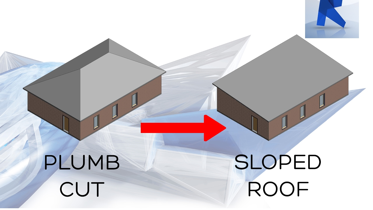 revit 2017 sloped roof create a sloped roof easy - Roof Slope