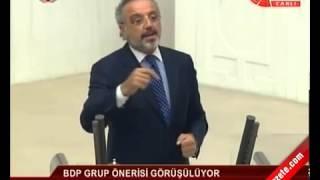 BDP'li Sırrı Sakık Meclis Kürsüsünden Şivan Perver Dinletti