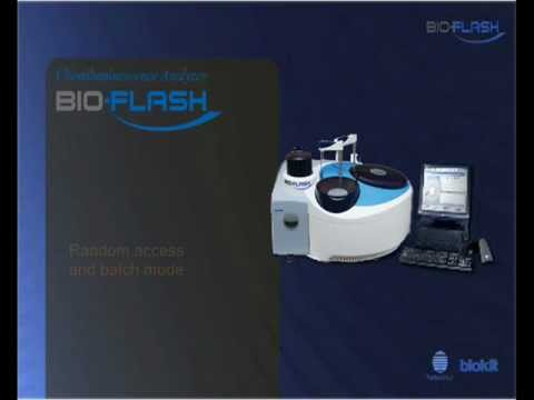BIO-FLASH chemiluminescent system, launched by Biokit,SA, fully automated for infectious diseases