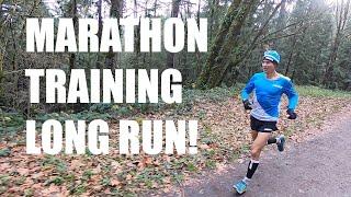 LONG RUN: THE MARATHON TRAINING BACKBONE! Sage Canaday Running